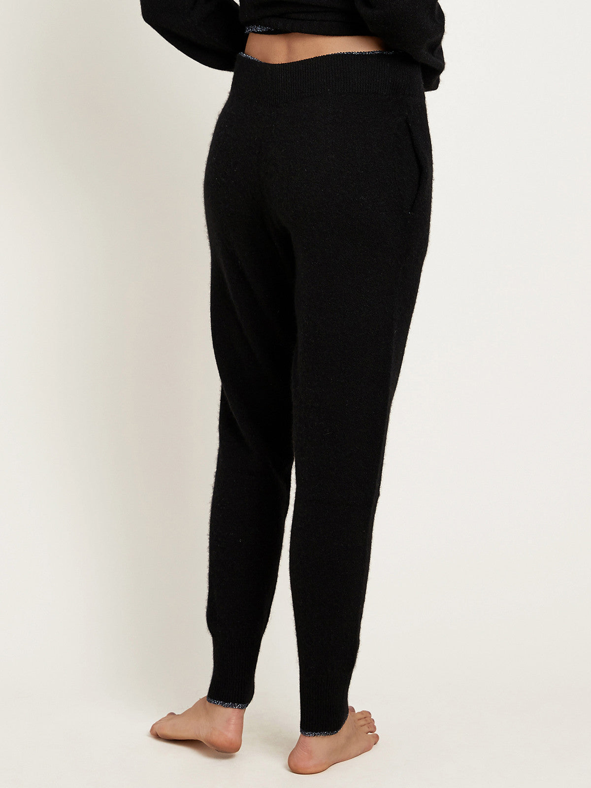 Hailey Pant in Cashmere Noir By Morgan Lane