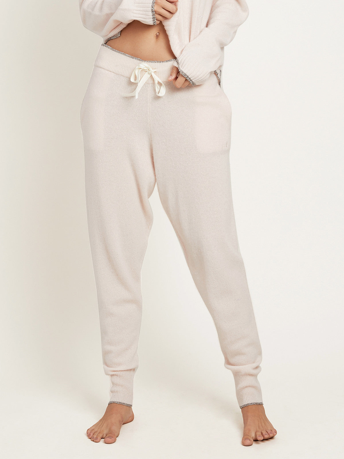 Hailey Pant in Cashmere Vanilla By Morgan Lane