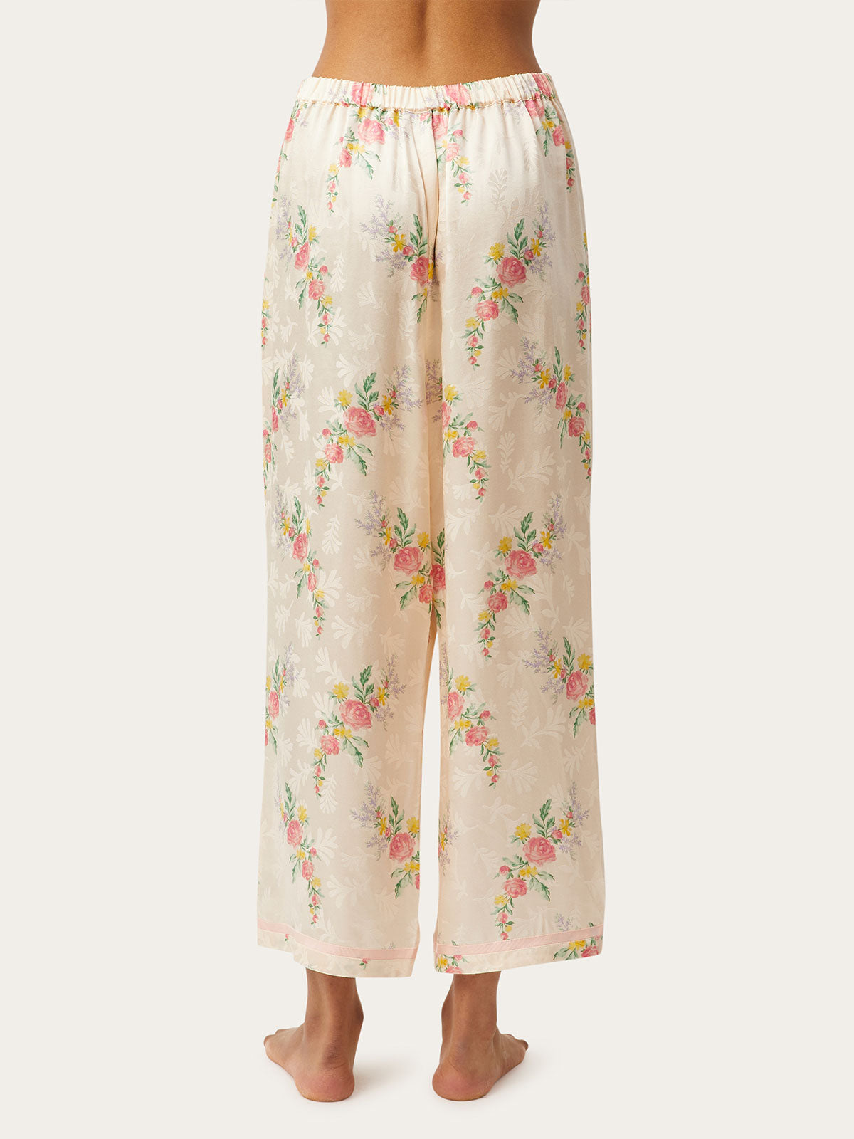 Ines Pant in Creme By Morgan Lane