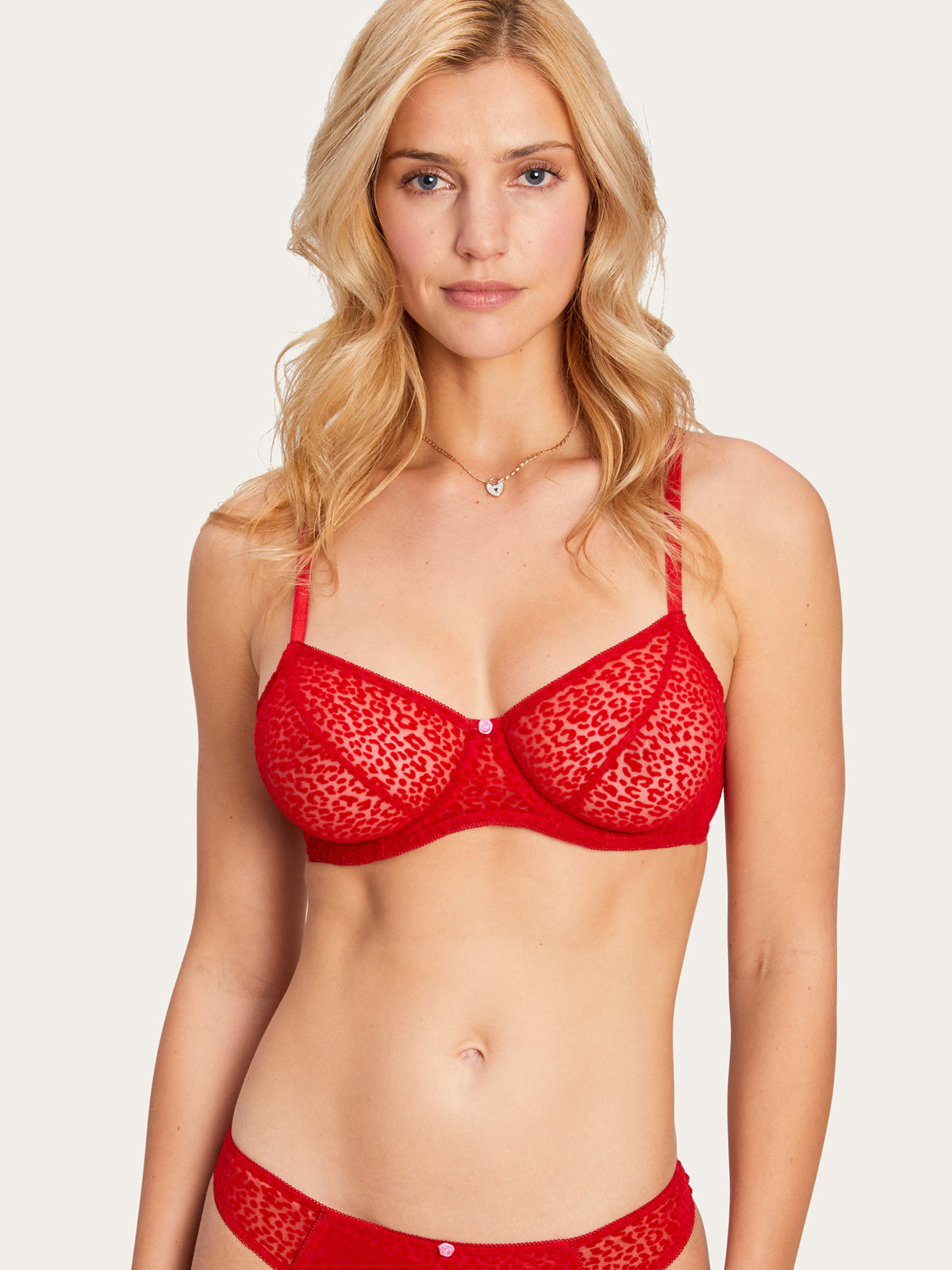 Jesse Jo Bra in Ruby By Morgan Lane