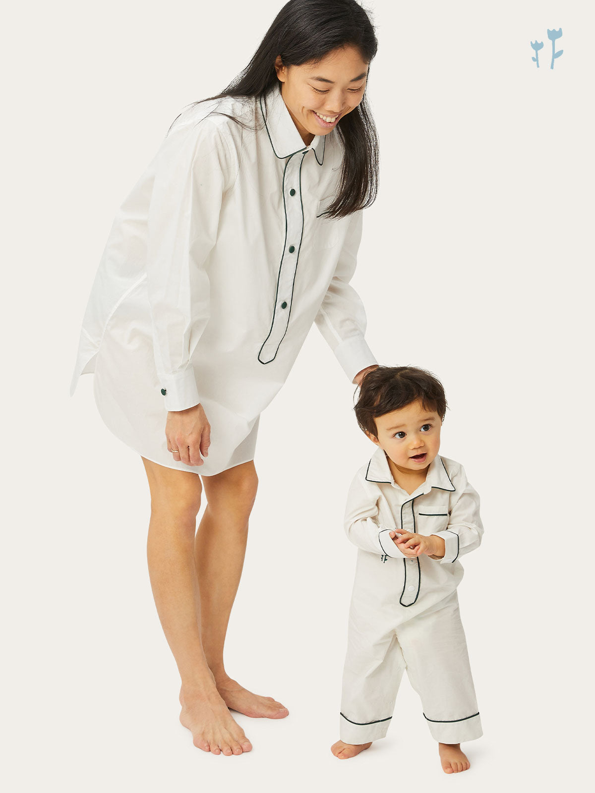 Juniper Onesie in Chalk By Morgan Lane