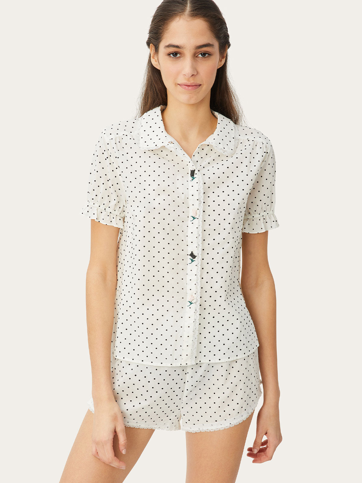 Lovie Top in Primrose Dot By Morgan Lane