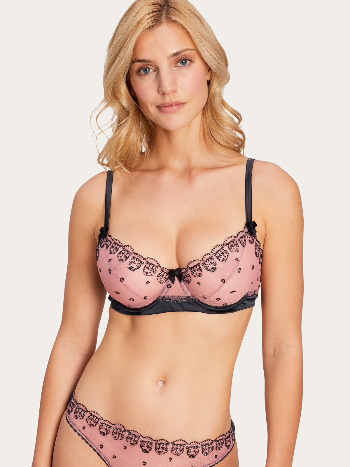 Matilda Bra in Dusty Rose By Morgan Lane