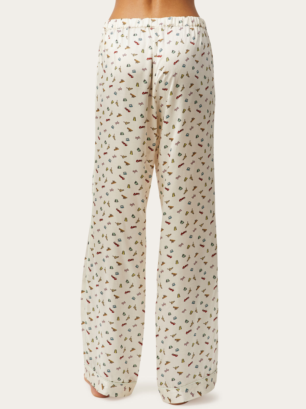 Parker Pant in Token Print By Morgan Lane