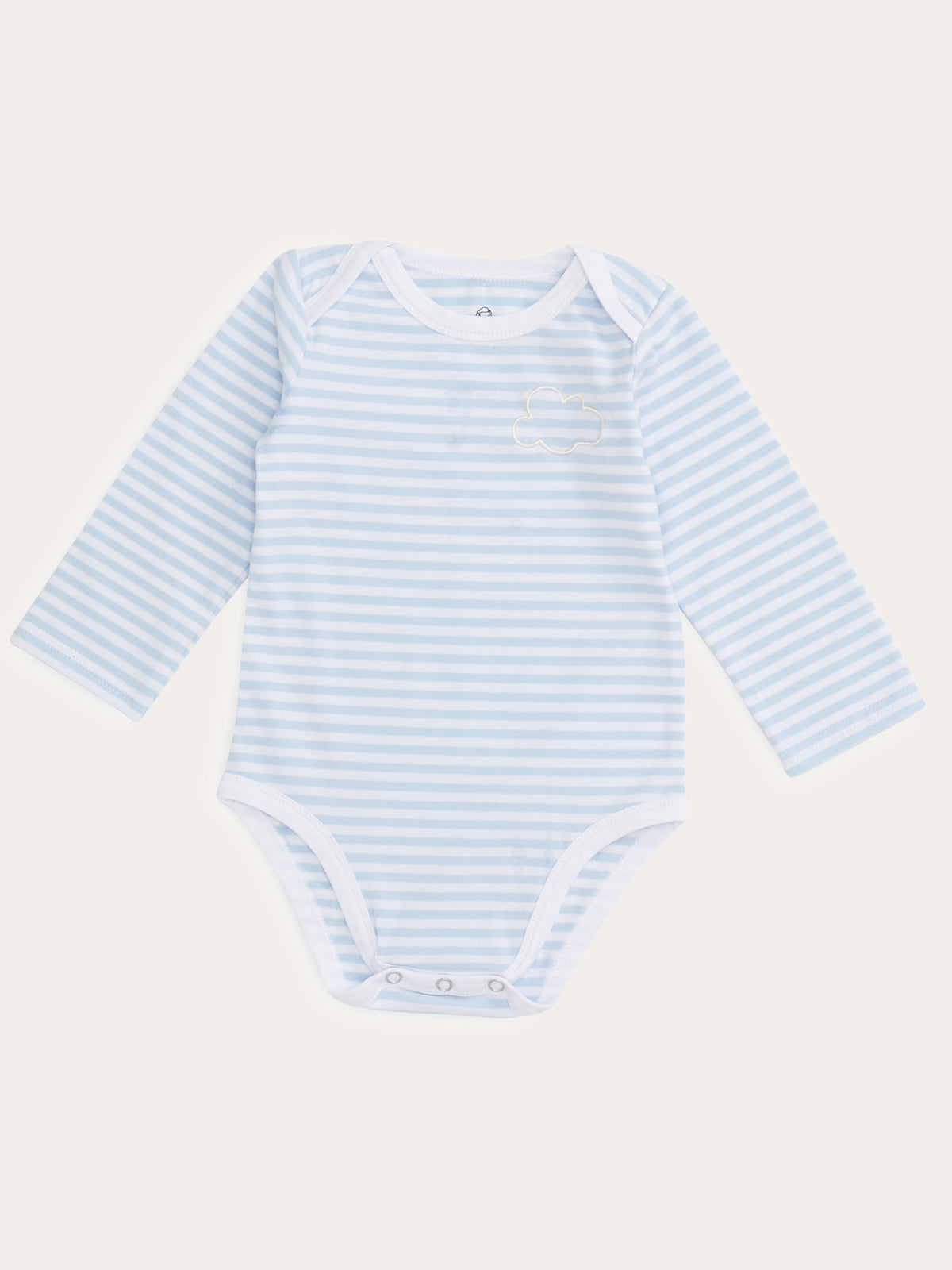 Roo Onesie in Sky Stripe By Morgan Lane