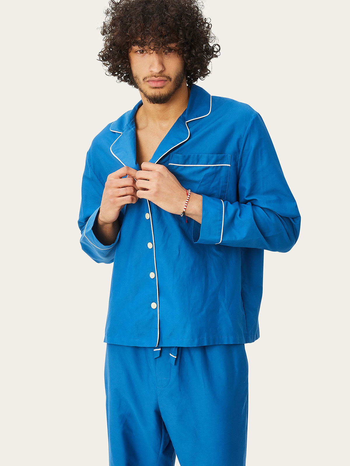 Tommy PJ Set in Marine By Morgan Lane