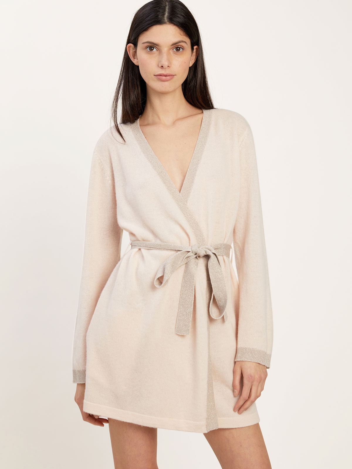 Bella Robe in Cashmere Vanilla By Morgan Lane
