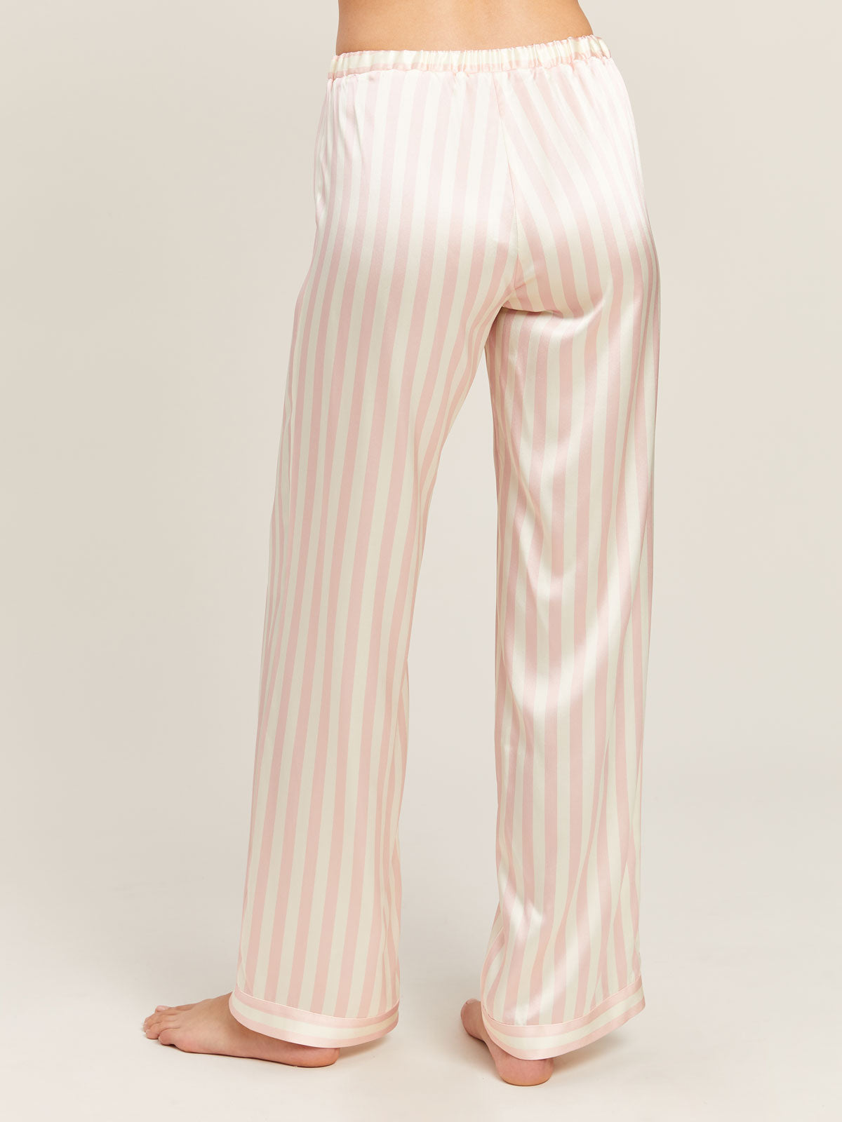 Chantal Pant in Petal Stripe By Morgan Lane