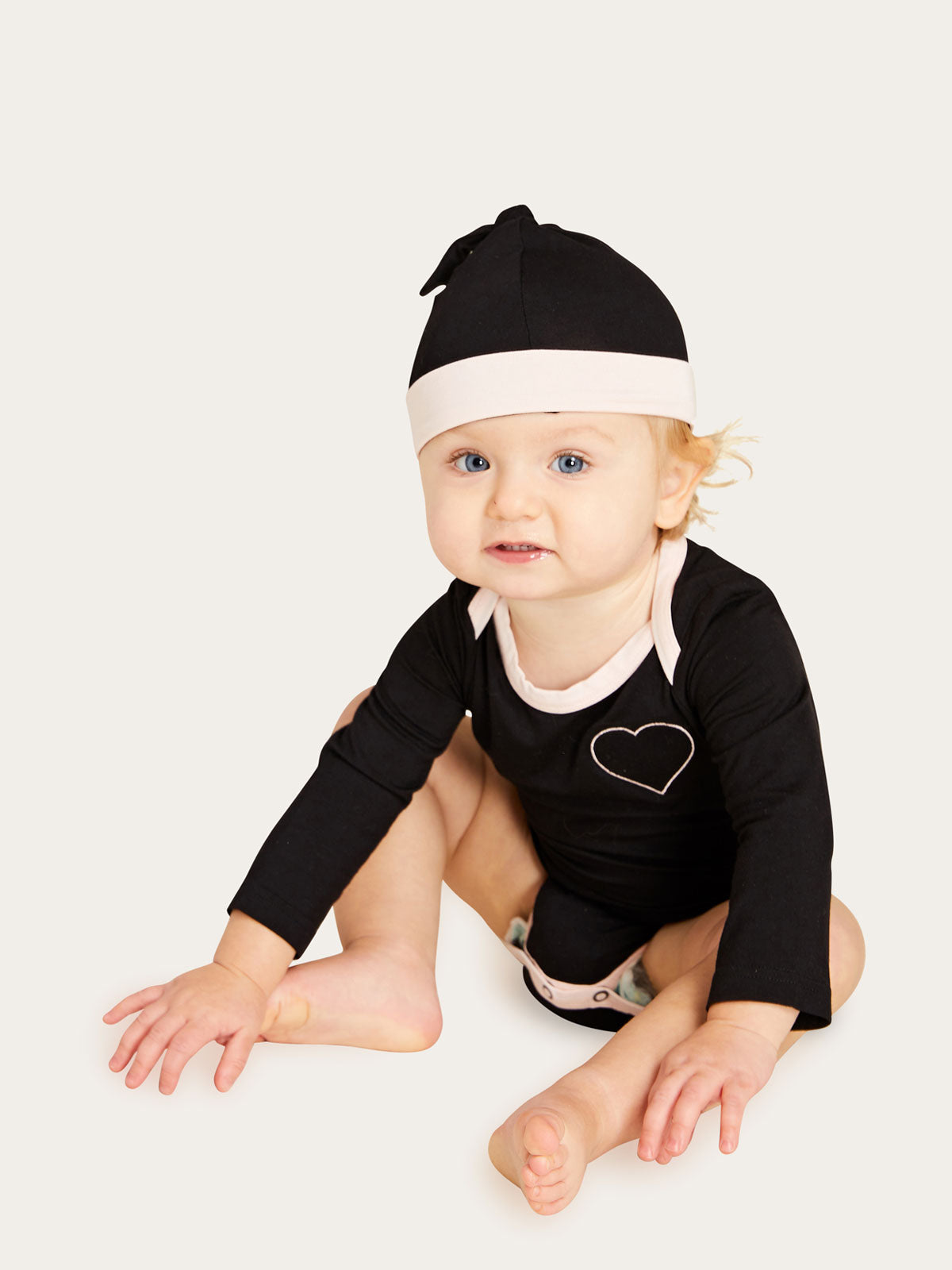 Roo Onesie in Noir Vanilla By Morgan Lane