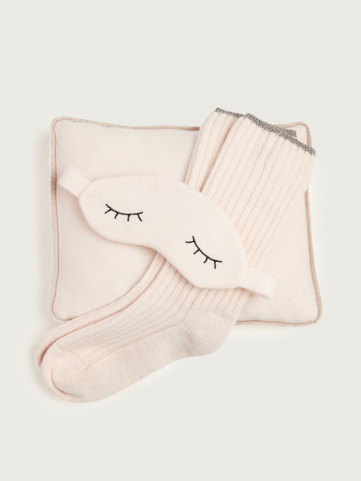 Sleepy Cashmere Gift Set in Vanilla By Morgan Lane