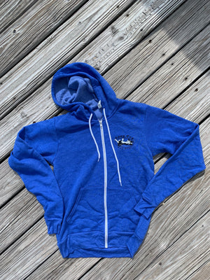 Hooded: Lazy Dog  Fleece Hoodie Zip Up
