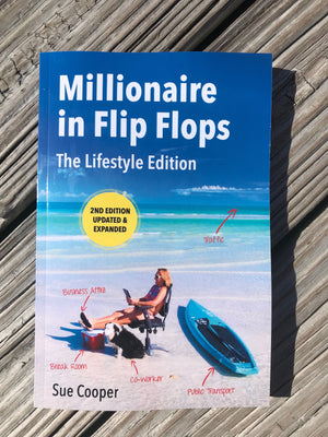 BOOK: Millionaire In Flip Flops Paperback Book- Updated and Expanded