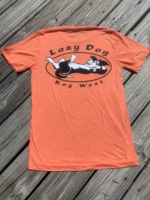 T-Shirts: Lazy Dog Original Logo T-Shirt