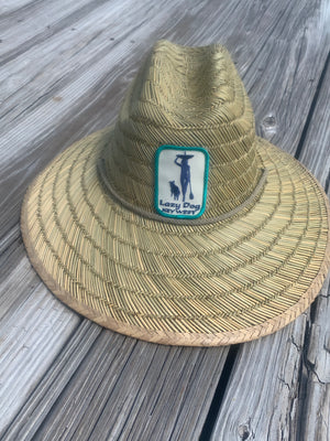 Hats: Lazy Dog UPF Straw Lifeguard Hat