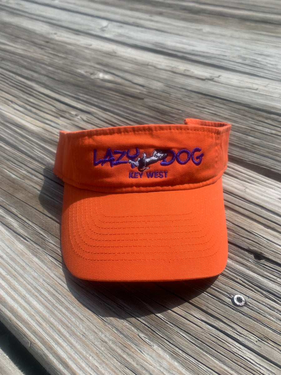 Hats, Visors: Lazy Dog Visor