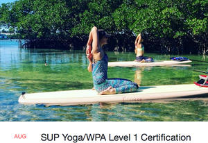 TRAINING: Lazy Dog SUP Yoga/WPA Level 1 Trainer Certification