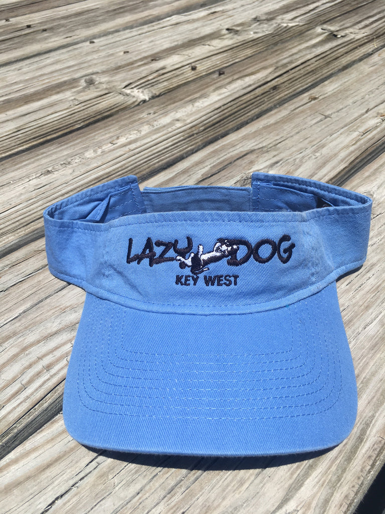 Lazy Dog Banner Logo Visor