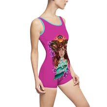 Load image into Gallery viewer, Nature Spirit   Women's Vintage Swimsuit