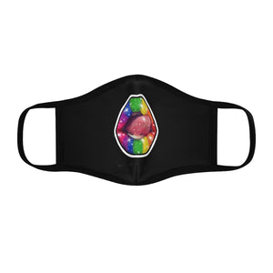 Lgbtq+   Fitted Polyester Face Mask