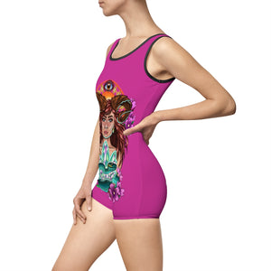 Nature Spirit   Women's Vintage Swimsuit