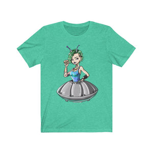 """Alien Girl"".    Unisex Jersey Short Sleeve Tee"