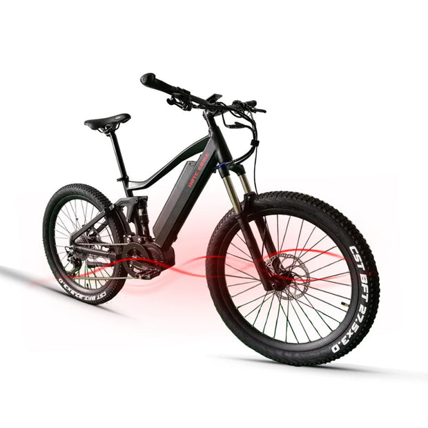 27.5 High-end electric mountain bike 48V1000W mid-bafang motor.-Pro eRiders