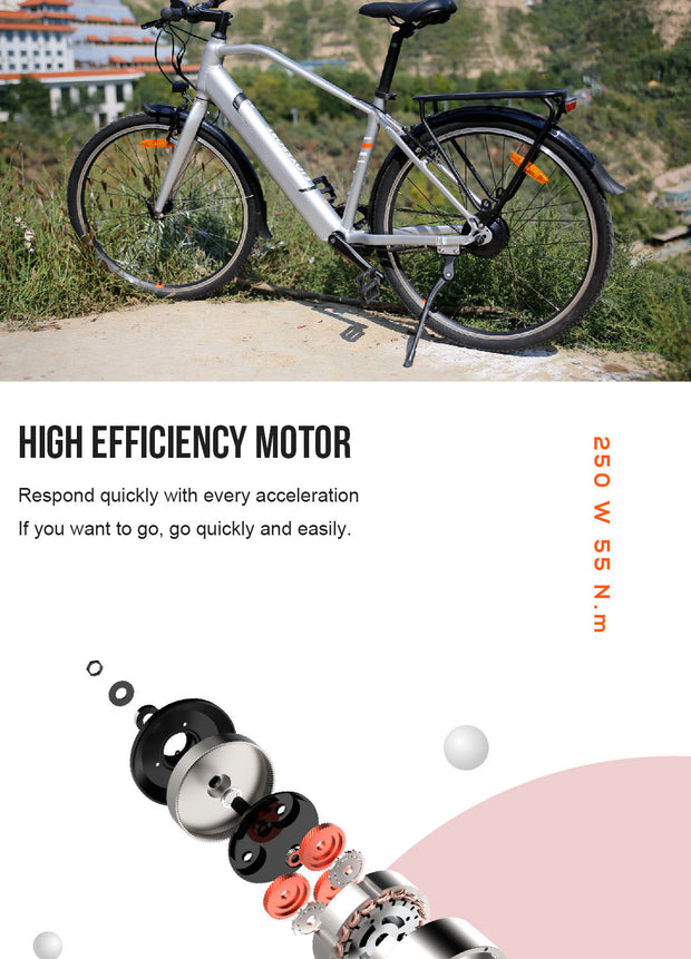 26inch electric bike ultra light lithium battery ebike City Smart Bike-Pro eRiders