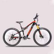 27.5-inch electric-powered soft-tail mountain bike-Pro eRiders