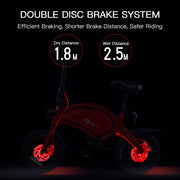 DYU E-bike 65-70km Max Range Folding Bike-Pro eRiders