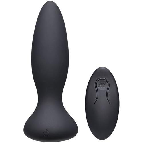 A-Play Thrust Adventurous Thrusting Butt Plug - Black - Lovematic.ie