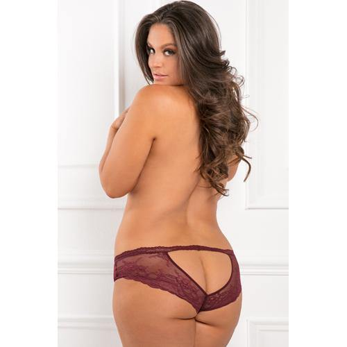Rene Rofe Dive Deep Panty with Open Back - Plus Size.