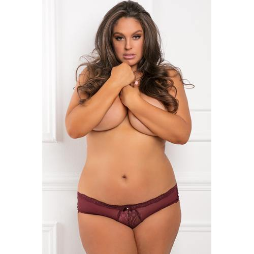 Rene Rofe Dive Deep Panty with Open Back - Plus Size - Lovematic.ie