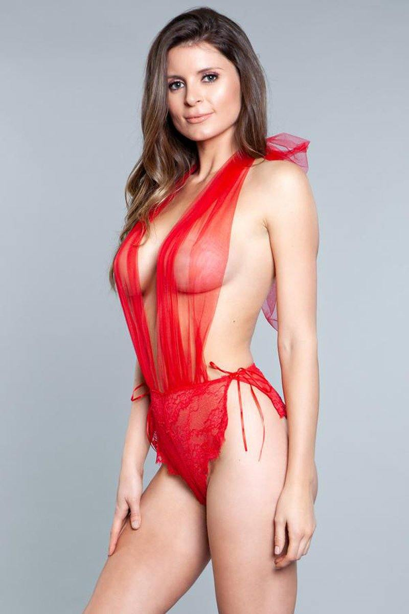 Be Wicked Alessandra Teddy - Red.