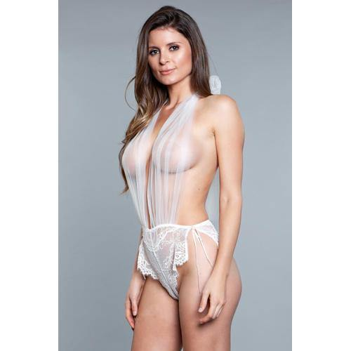 Be Wicked Alessandra Teddy - White.
