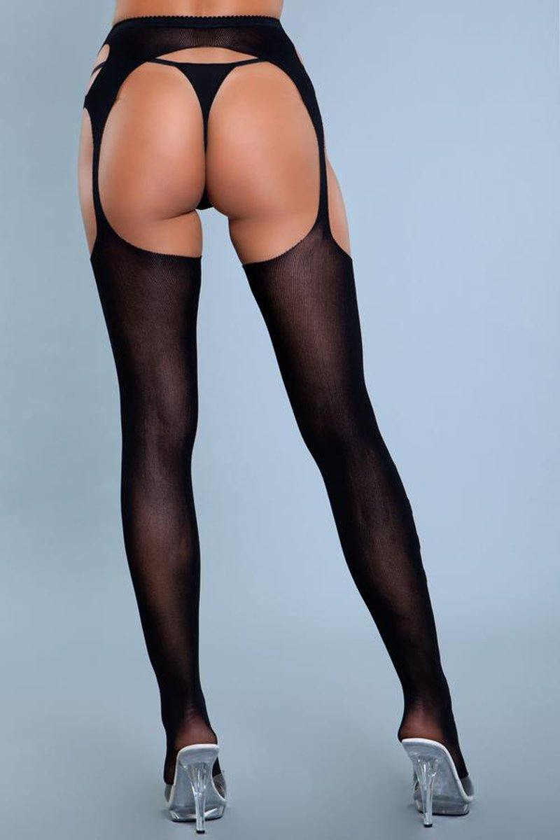 Be Wicked In Your Mind Garter Pantyhose - Lovematic.ie