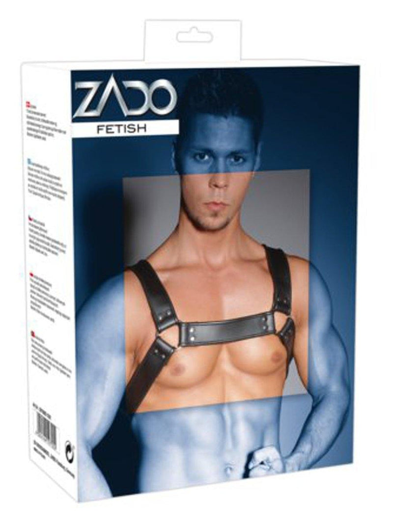 Zado Leather Chest Harness.
