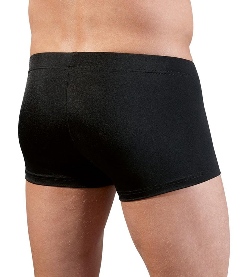 Svenjoyment Underwear Men's Boxer With Opening - Black