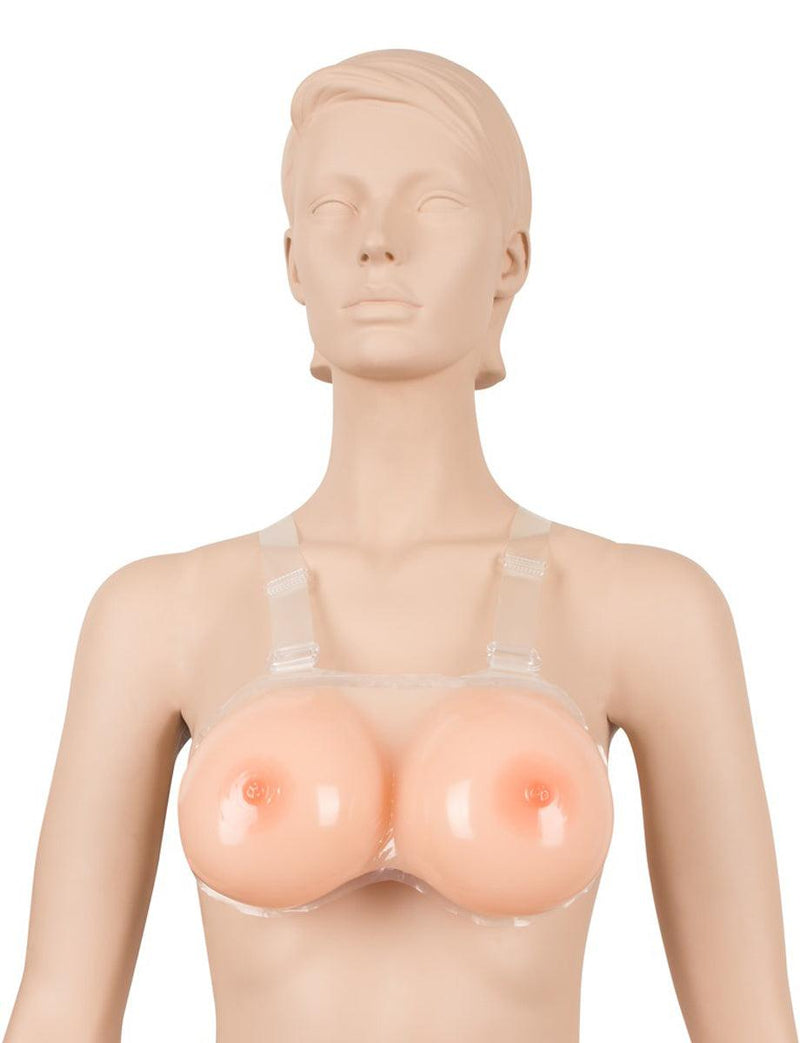 Cottelli Collection Strap-on Silicone Breasts - Lovematic.ie