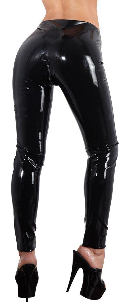 The Latex Collection Latex Leggings With Zipper.