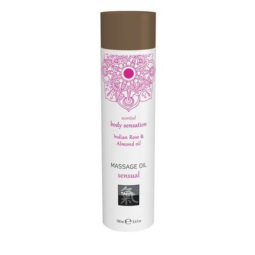 Shiatsu Massage Oil Sensual - Indian Rose & Almond.