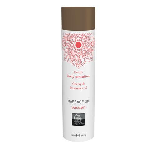 Shiatsu Massage Oil Passion - Cherry & Rosemary