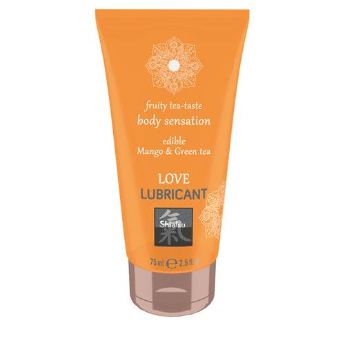 Shiatsu Love Lubricant edible - Mango & Green Tea