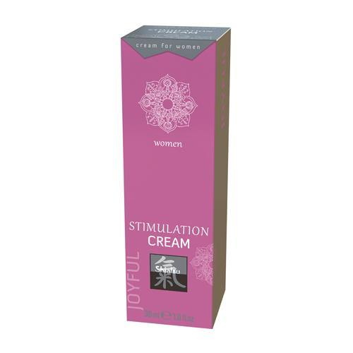 Shiatsu Stimulation Cream.