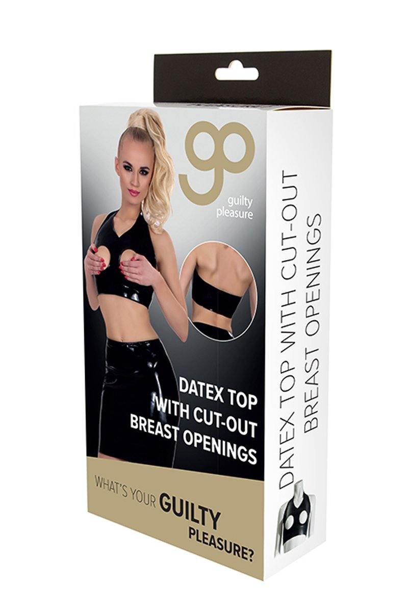 Guilty Pleasure GP Datex Top With Cut-Out Breasts - Lovematic.ie