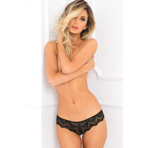 Rene Rofe Come Undone Crotchless Panty - Lovematic.ie