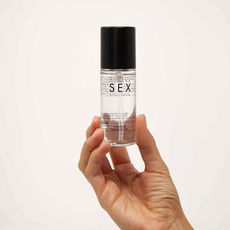 Slow Sex Warming Massage Oil - 50 ml.
