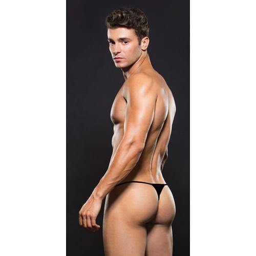 ENVY Mesh Thong - Black.