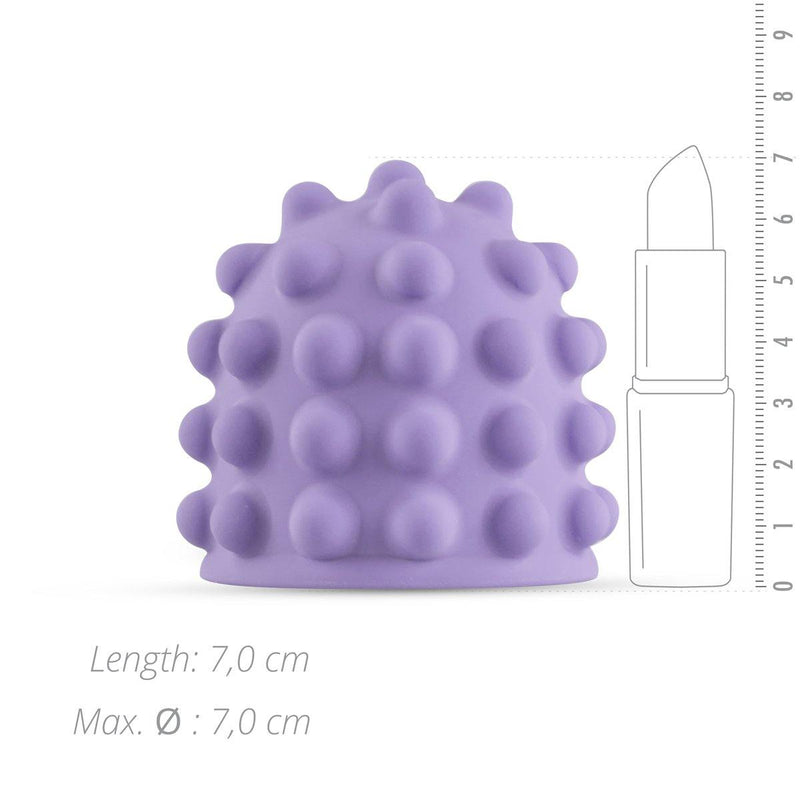 MyMagicWand MyMagicWand Nubbed Attachment - Purple - Lovematic.ie