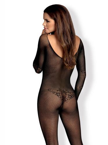 Obsessive Net Bodystocking With Long Sleeves - Lovematic.ie