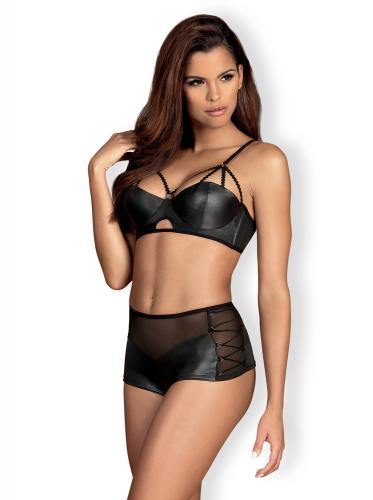 Obsessive Leatheria 2-Piece Set - Lovematic.ie